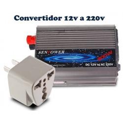 Convertidor de Tensión  12V a 220V - 300W para coche